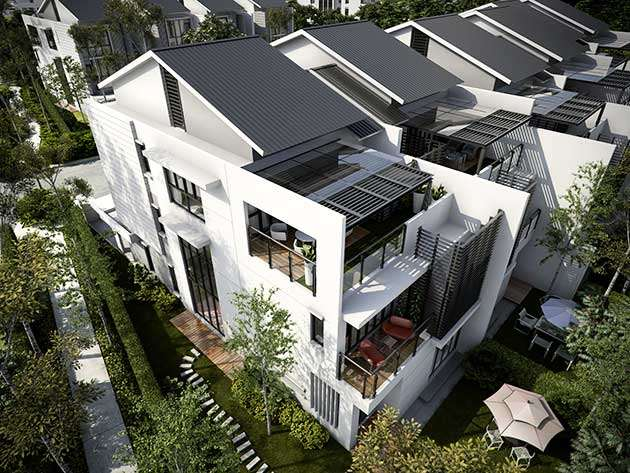 New 3 sty terrace link house for sale at sejati residences for The terrace land and house