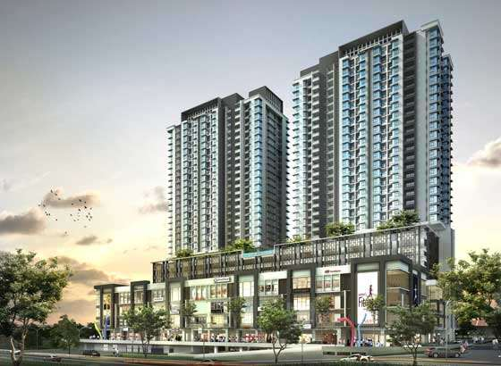 New serviced residence for sale at residences 1 tebrau for Home design johor bahru