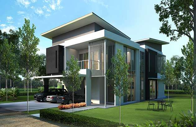 Marvellous Modern Bungalow Design Concept Images Simple Design